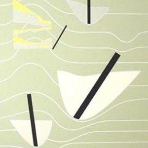 Juhana Blomstedt: La meer, 1999, serigrafia, 50,5x35, edition 90 - Taidekeskus Salmela