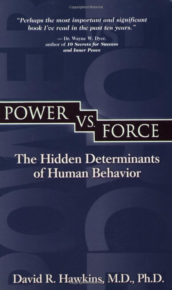 Power vs. Force- Dr.David Hawkins