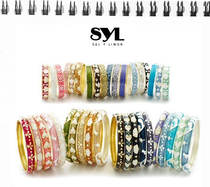 SYL Bracelets, and your combination becomes unique.  http://www.salylimon.com/