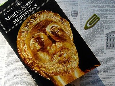Book Impressions By Sophie W. Smith: Meditations by Marcus Aurelius © c. AD 171-175