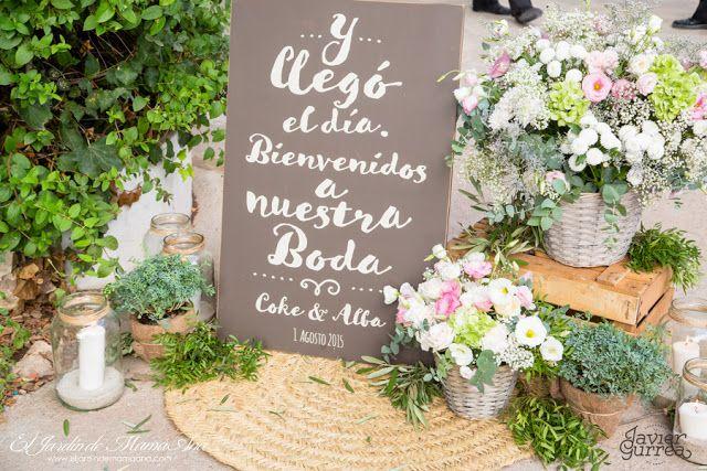 La boda mint de Alba y Coke
