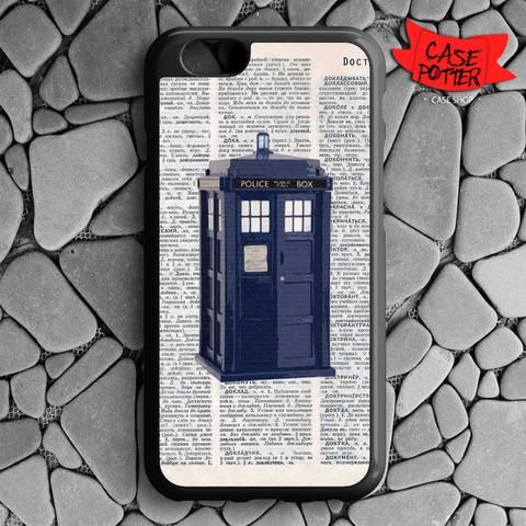 Dictionary Tardis Doctor Who iPhone 6 iPhone 6S Black Case