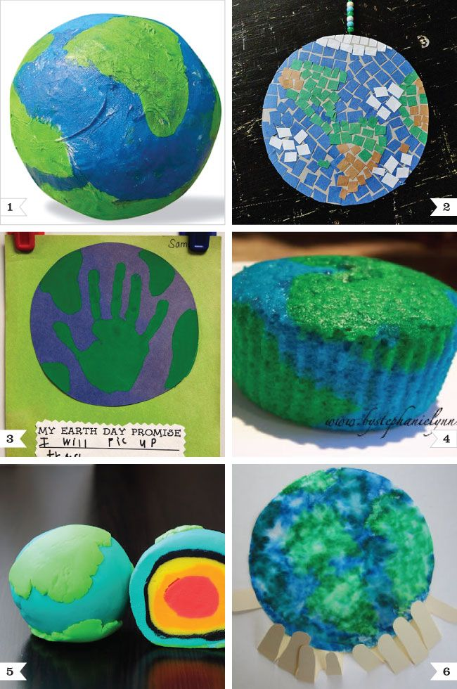 Earth day projects--April 22: Earth Craft, Earth Day Crafts For Kids, Crafts Projects, Projects Ideas, April 22, Earth Cupcake, Project Ideas, Preschool Earth, Earthday
