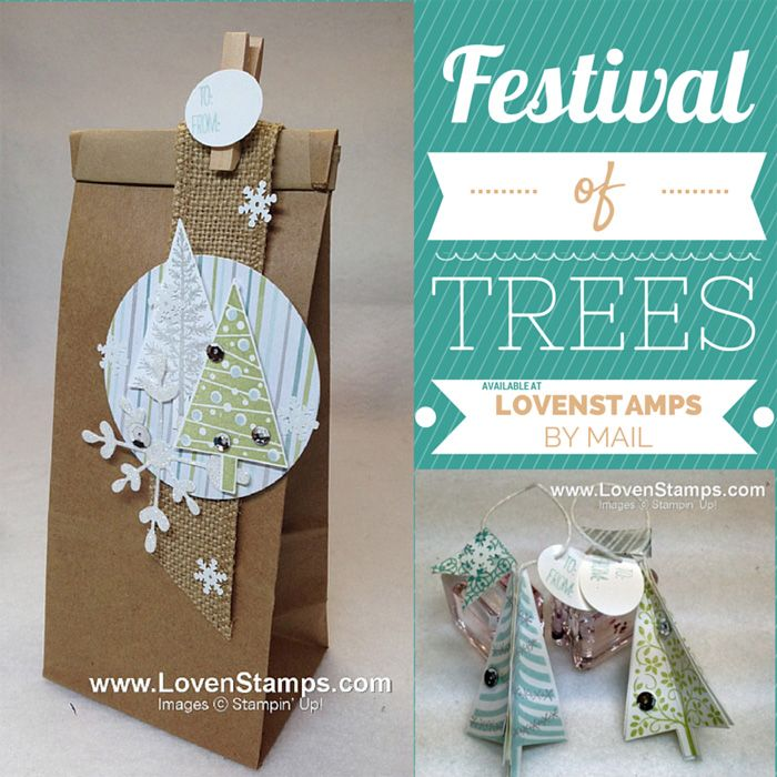 Festival of Trees: Gift Bag plus a gift to go inside                Gift tags with video