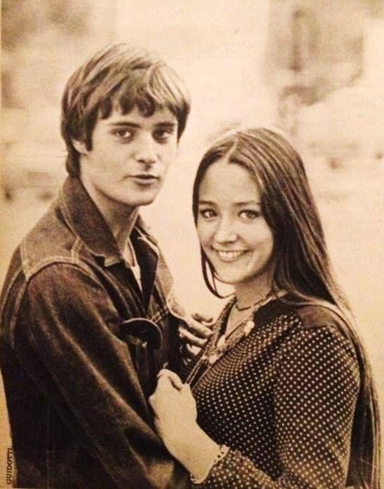 Olivia Hussey and Leonard Whiting  https://www.facebook.com/Olivia-Hussey-Ultimate-Fan-Page-137739519631362/timeline/