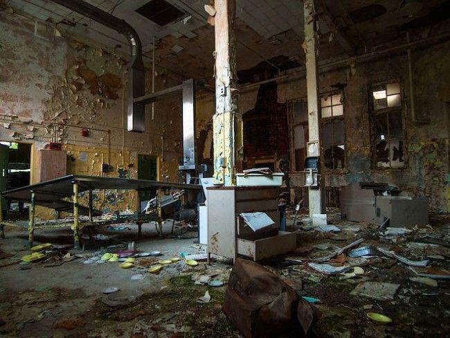 Hospital abandonado en Perrysburg (Nueva York) 1