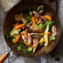 Thai-style duck stir-fry with lime - Sainsbury's Magazine