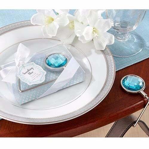 """Gancho porta bolsas """"Something Blue"""" #recuerdo para #mujeres #bonito útil #elegante lo puedes #comprar en nuestra #tienda #ondinecollection en el #df"""