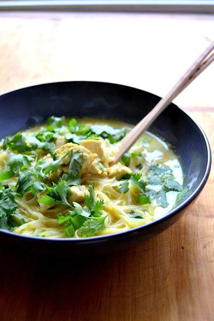 S vášní pro jídlo: Thajská kuřecí nudlová polévka