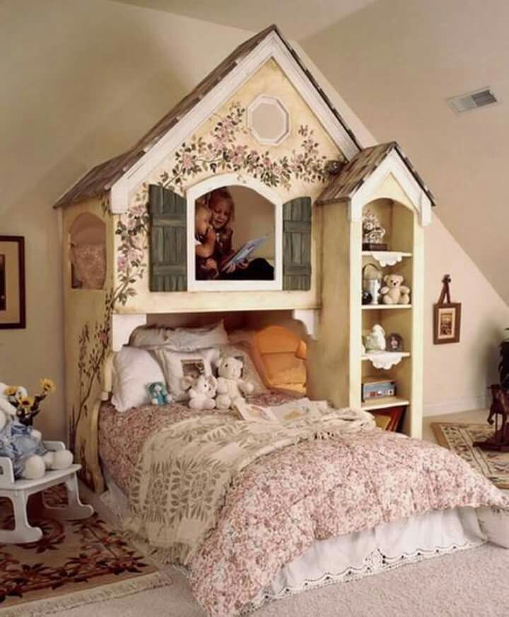 Dollhouse Bunk Beds This Is The Cutest Bed Design For Girls Via Little Girl Roomslittle