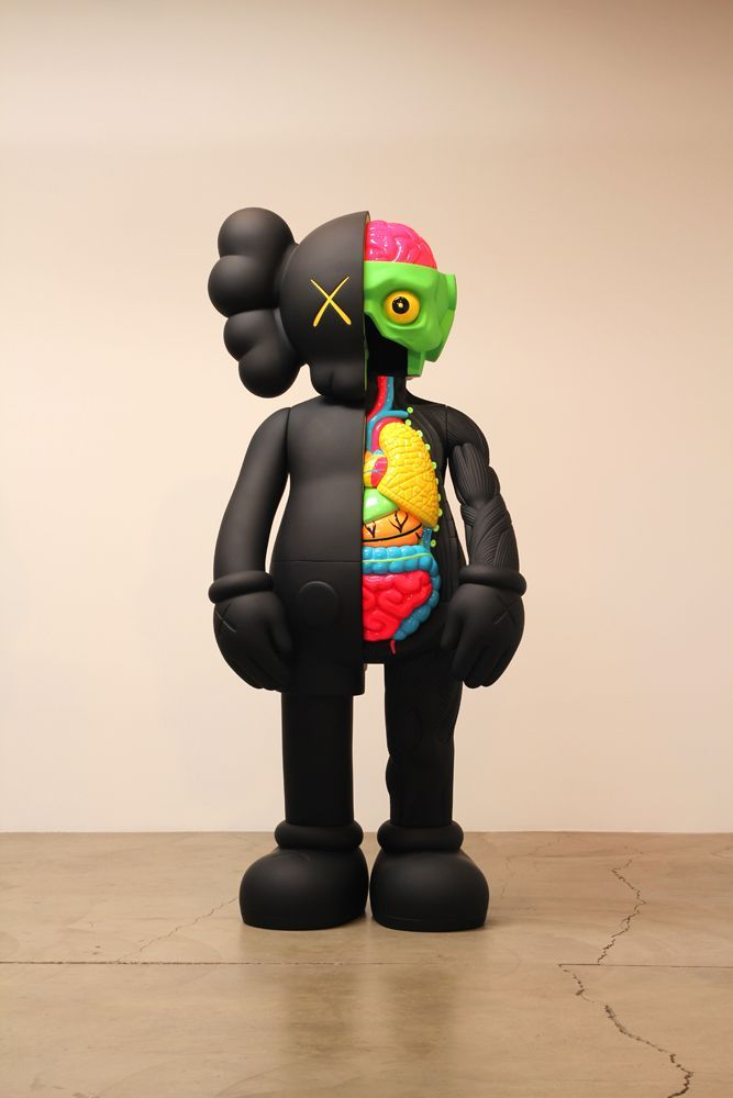 KAWS>Companion (Dissection in Color) . #kaws http://www.widewalls.ch/artist/kaws/
