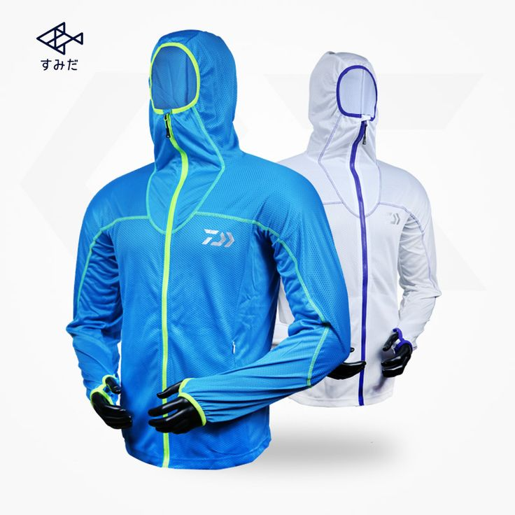 2017 The new DAYWA summer fishing clothing sunscreen sunscreen clothing outdoor UV breathable clothes male mosquito fishing