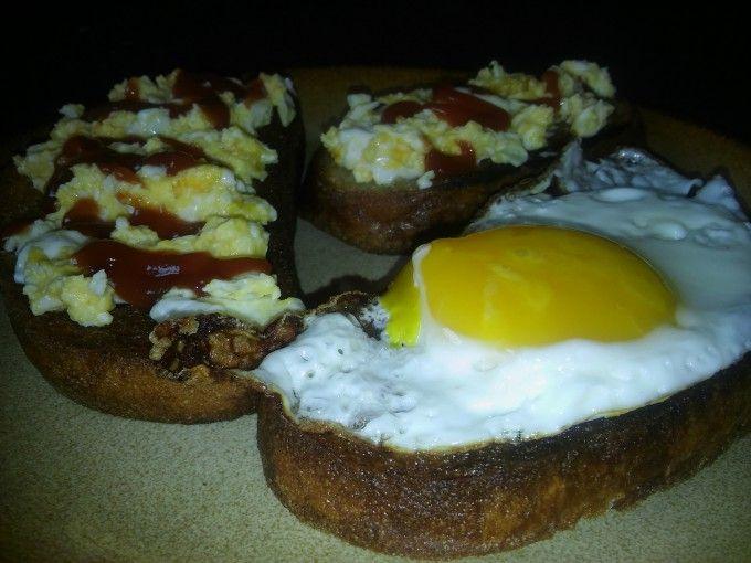 Extra vajíčkové topinky