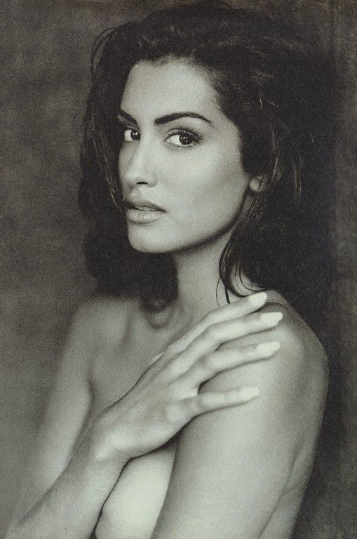 Yasmeen Ghauri - one of the original supermodels, she's absolutely stunning.