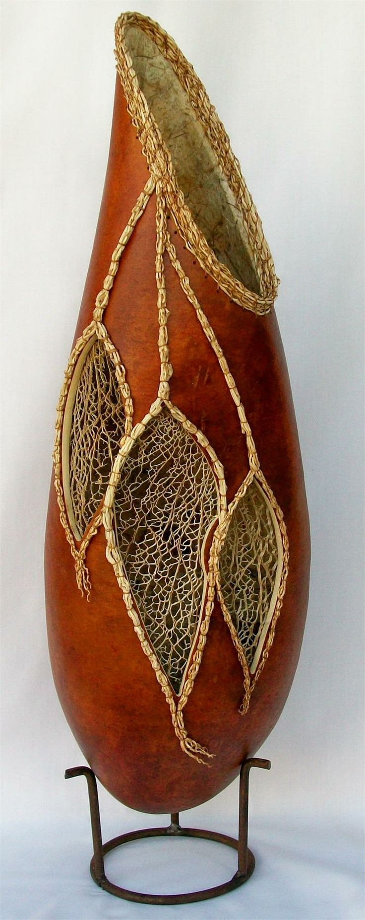 Welburn Gourd Farm Class - Cacti Skeleton Vase with Sue Brogdon