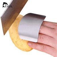 Fheal mano protector utensili da cucina utili fetta acciaio inox scudo dito accessori di protezione