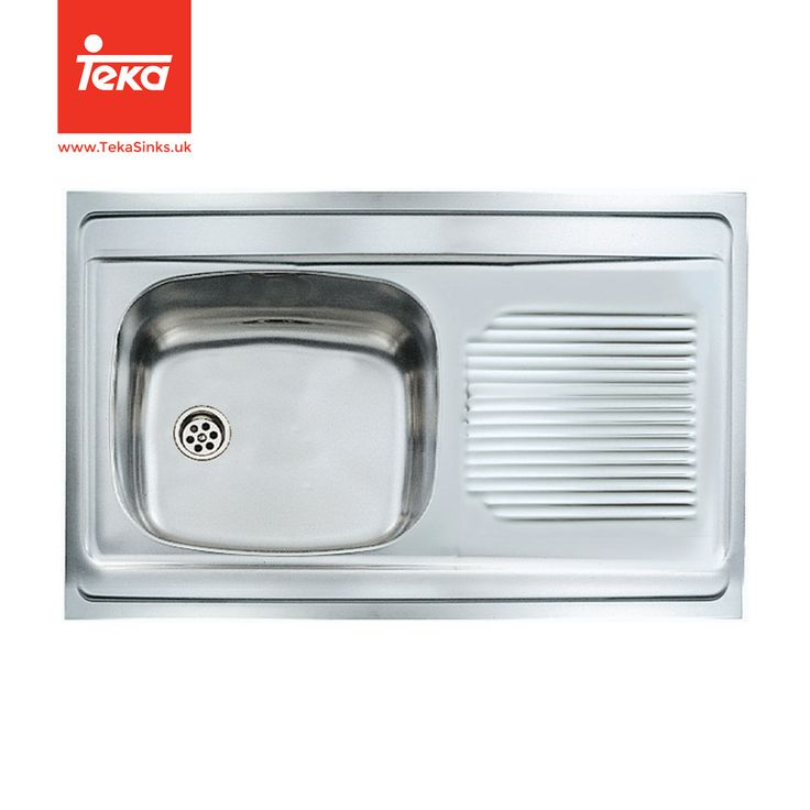 UNIVERSAL 1B 1D INSET SINK WITH SINGLE BOWL AND SINGLE DRAINER. Find Out