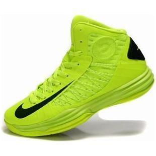 www.asneakers4u.com/ Nike Lunar Hyperdunk X 2012 Women Shoes Fluorescent Green