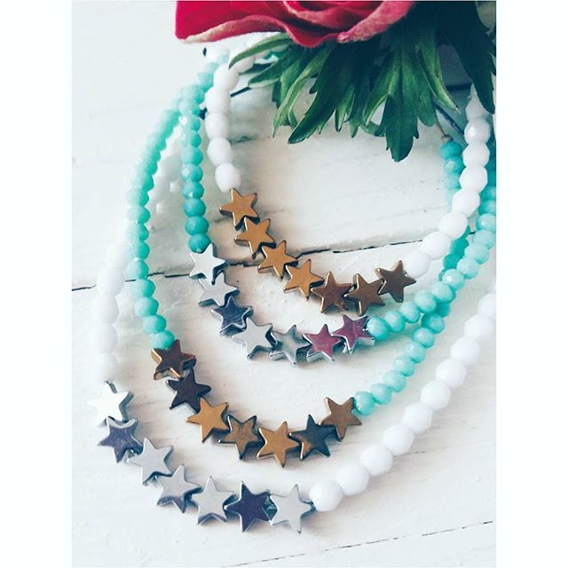 •strs•#ohsocutethings #handmade #jewelry #greekdesigners #greekdesigner #madeingreece #fashion #fashionista #fashionjewelry #fashiongram #happy #love #cute #jewelrygram #photooftoday #ootd #wearthistoday #instadaily #sun #summer #boho#summer #styles #gems#semiprecious #stone#turquoise#stars