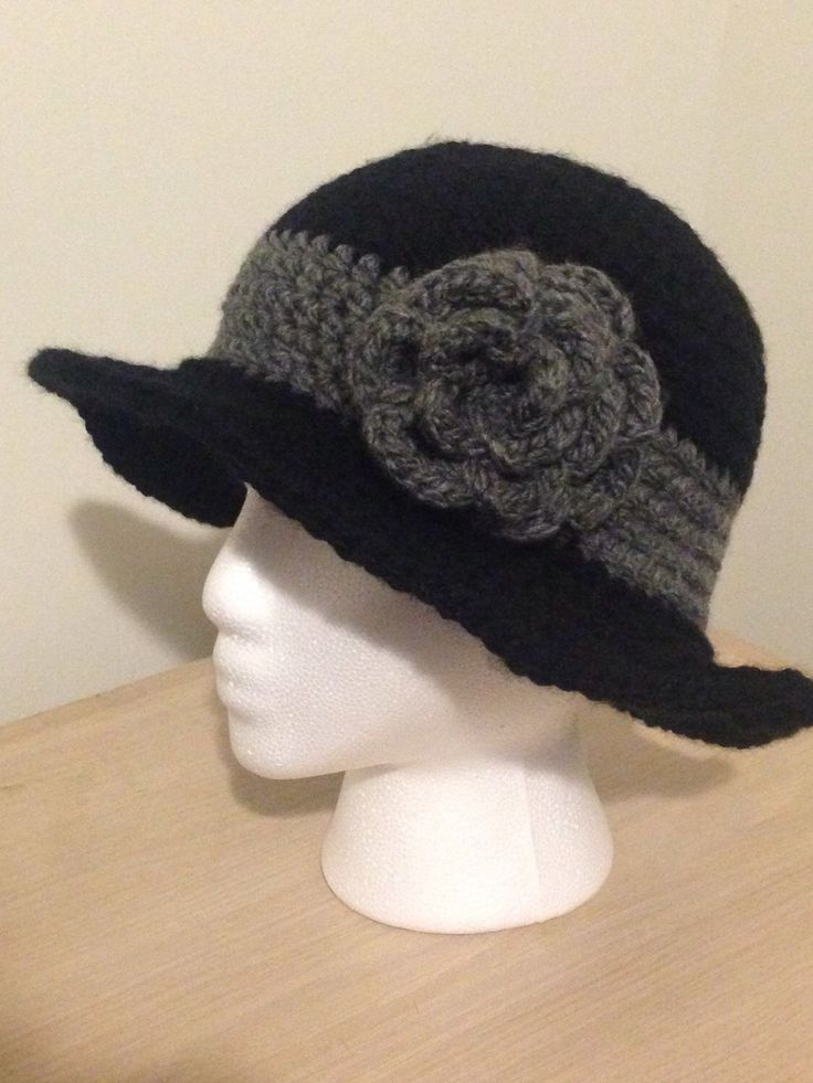 A personal favorite from my Etsy shop https://www.etsy.com/ca/listing/582960512/1920s-cloche-hat-with-wide-brim-flapper