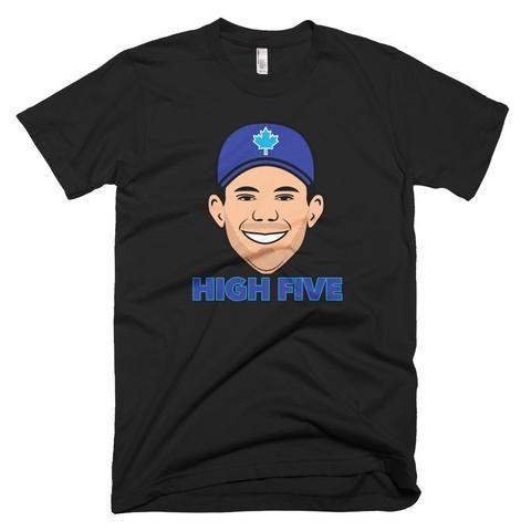 Joe Biagini Shirt- Toronto Blue Jays- White
