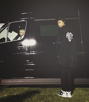 Celeb Sneaker Game: Wiz Khalifa Wearing Air Jordan 1's
