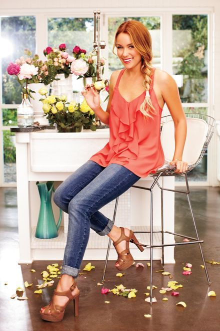 My new favorite top (LC Lauren Conrad for Kohl's Spring 2012 Lookbook)