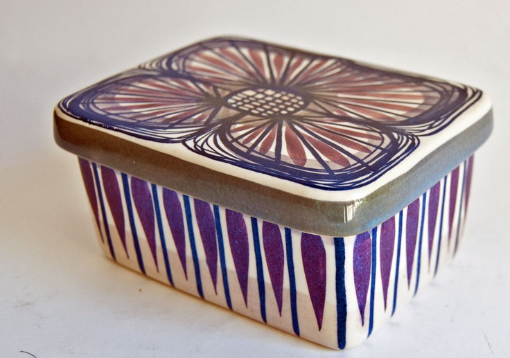 Beth Breyen - Alumina Butter Box from the Tenera Range 1960's