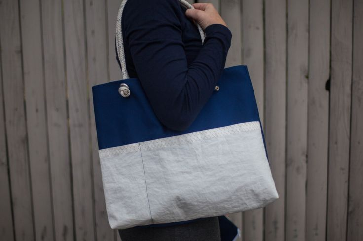 Recycled Sail Cloth Handbag by Arborandiron on Etsy https://www.etsy.com/listing/486384683/recycled-sail-cloth-handbag