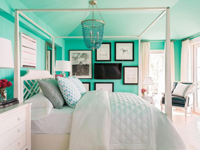 17 best ideas about turquoise bedrooms on pinterest teal for Beautiful bedrooms 2016