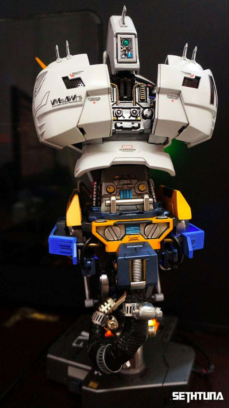 GSM 1/24 Tansformable Zeta Gundam Head Display + Full LED Function  by SethTuna   Just wonderful build! I like that it also transforms. And ...