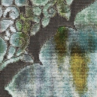 REGALE from Christian Fischbacher's 2015 Collezione Italia, a velvet jacquard with a beautiful three-dimensional look.