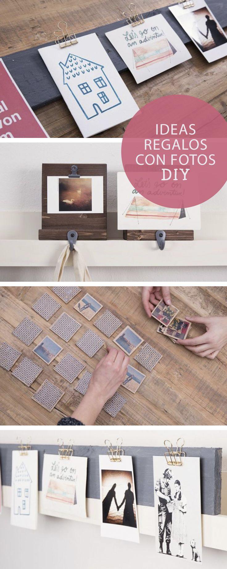 Ideas de regalos y manualidades con fotos en DaWanda.es #DIY #doityourself #hechoamano #handmade #manualidades #fotos #marcos #frame #pictureframe #regalos #gifts #inspiracion #inspiration #deco #decoration #minimalista #minimal #posavasos #coaster #DaWanda