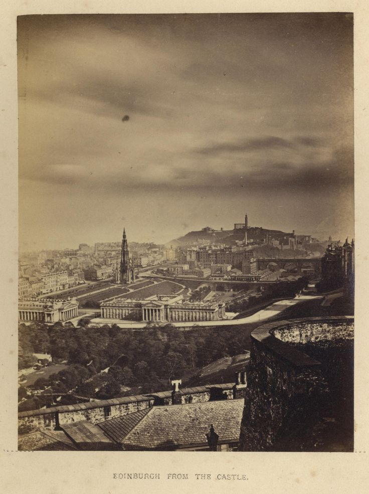 "https://flic.kr/p/232bUYR | Archibald Burns - Edinburgh From the Castle,1868 | Maker: Archibald Burns (1831-1880) Born: Scotland Active: Scotland Medium: albumen print Size: 3 1/8"" x 4 1/8"" Location:   Publication: R.M. Ballantyne, Photographs of Edinburgh, Andrew Duthie, Glasgow, 1868, pg 13  Other Collections:  Notes:   To view our archive organized by Collections, visit: OUR COLLECTIONS  For information about reproducing this image, visit: THE HISTORY OF PHOTOGRAPHY ARCHIVE"