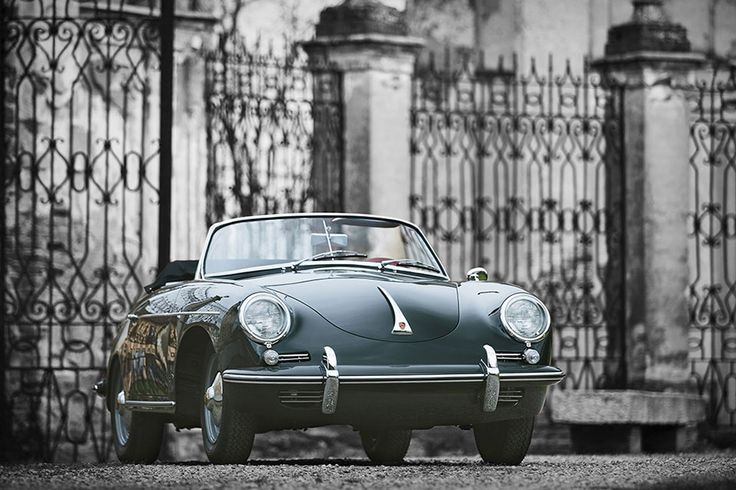 With swooping lines and a punchy 1.6 L flat-four engine, the 1961 Porsche 356 B 1600 S Roadster by D'Ieteren is an enjoyable vintage warm weather drive. This particular example was built in May 1961, and saw plenty of use...