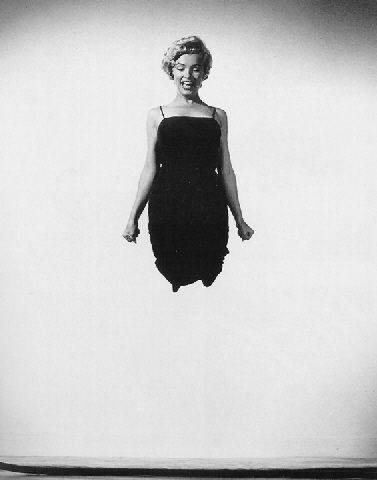 Jump Book By Philippe Halsman: Where Celebrities Had Fun Marilyn Monroe