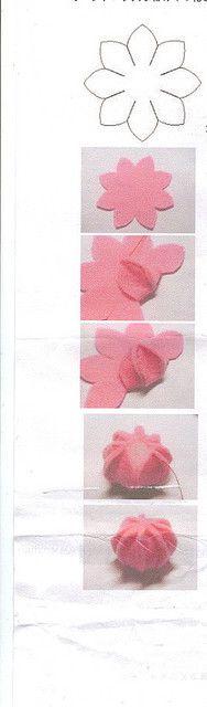 molde para fazer rosetas de chantilly