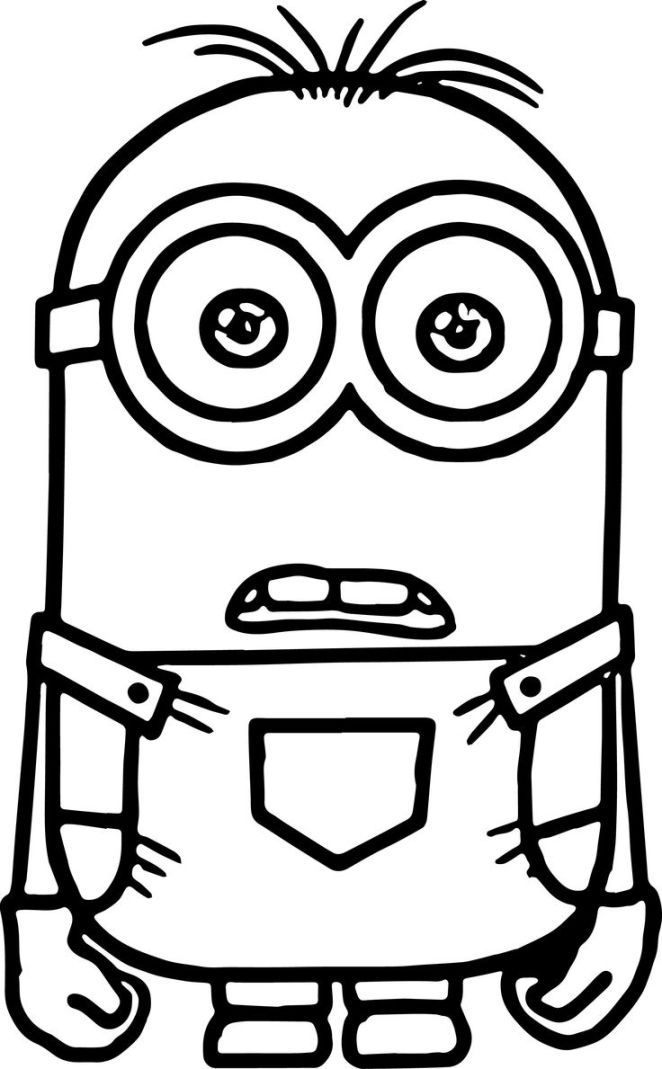 Minion Coloring Pages coloring