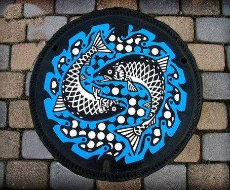 japanese manhole cover (from a book called drainspotting by remo camerota)
