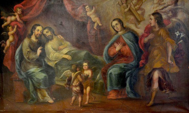 El Tránsito de San José, Museo de Arte Religioso del Exconvento de Sta. Mónica, Cdad. de Puebla, Pue