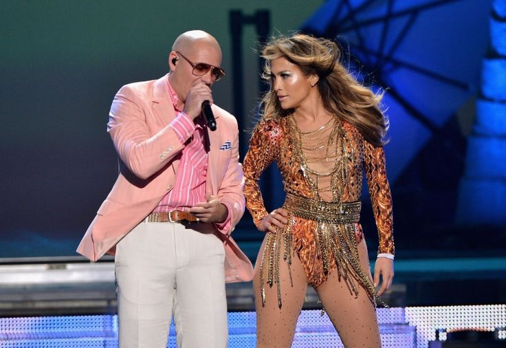 Pitbull And Jennifer Lopez | GRAMMY.com2013 Photos, Premiosjuventud 2013, Jennifer Lopez, Pitbull Performing, Jlo La, Lopez Performing, July 182013, Premios Juventud, Jennifer Accepted