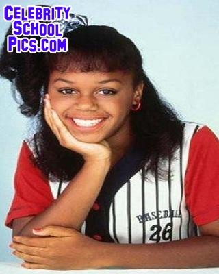 Jaimee Foxworth - Celebrity School Pic