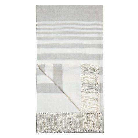 John Lewis Coastal Stripe Throw