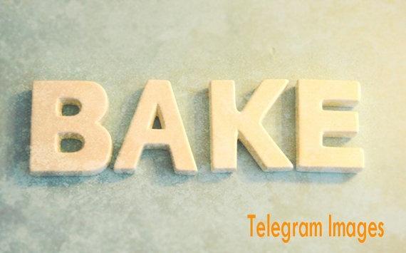 Bake Words Letters Kitchen Wall Art Kitsch Blue by TelegramImages, $16.00: Kitchens Decor, Kitchens Art, 12Inch Art, Art Prints, Blue Cream, Kitchens Baking, Baking Letters, Art Kitsch, Kitchens Wall Art