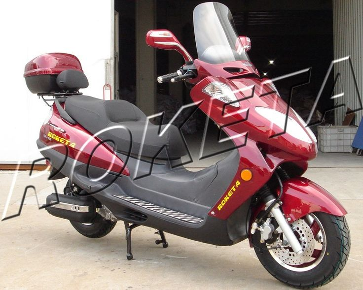 #Roketa MCR-13-150 150cc Gas Scooter Red...https://goo.gl/hfnnvd
