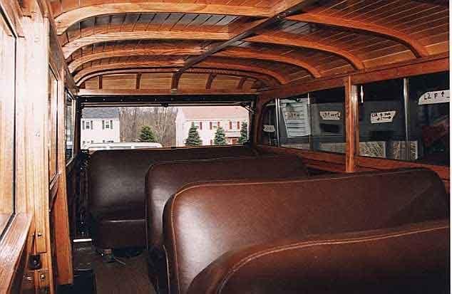 powerwagon interior | 1950 Dodge Power Wagon Woodie - Body ...