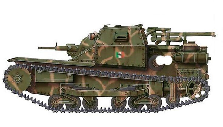 """""""Carro Armato L 3, 2ª Compagnia Carri L, Gruppo Esplorante, Raggrupamento Anti Partigiani, RSI, 1945"""""""