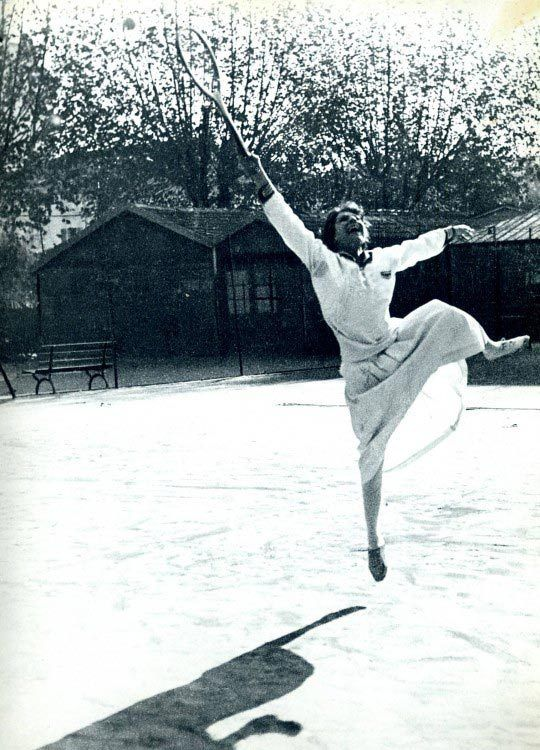 Suzanne Lenglen , photo Jacques-Henri Lartigue