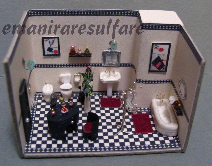 Bagno deco 39 7 miniatura ba os y juguetes - Bagno in miniatura ...