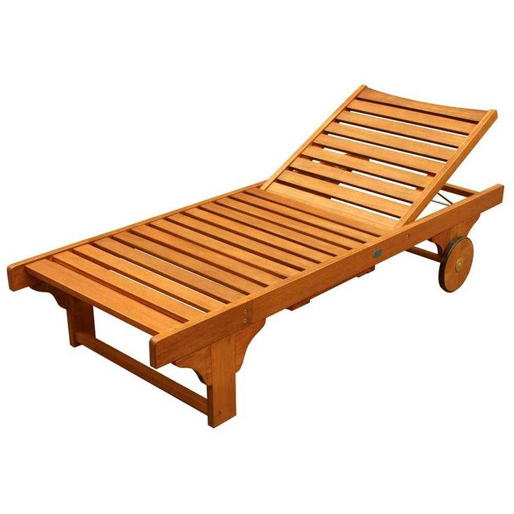 Best 25 chaise lounge outdoor ideas on pinterest for Best outdoor chaise lounge
